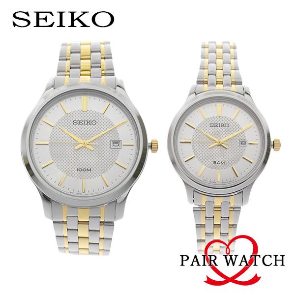 ペアウォッチ セイコー SEIKO 腕時計 SUR295P1 SUR647P1 シルバー