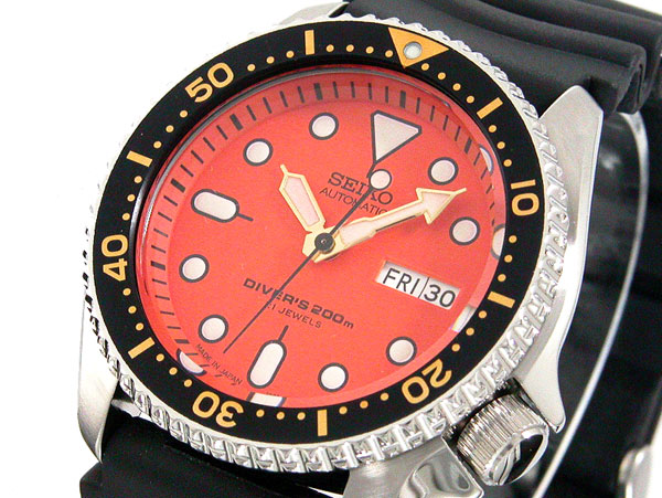 セイコー SEIKO オレンジボーイ ダイバー 自動巻き 腕時計 SKX011J