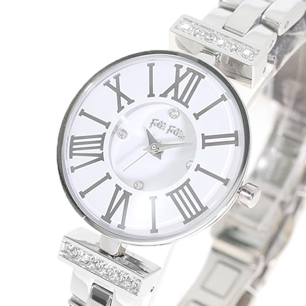 フォリフォリ FOLLI FOLLIE 腕時計 ミニ ダイナスティ レディース WF15A028BSW XX クォーツ ホワイト シルバー