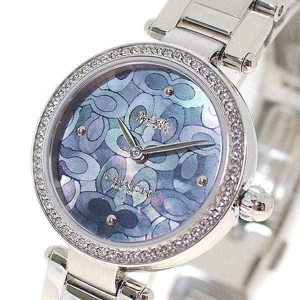 コーチ COACH 腕時計 レディース 14503224 パーク PARK クォーツ ネイビーグレー シルバー