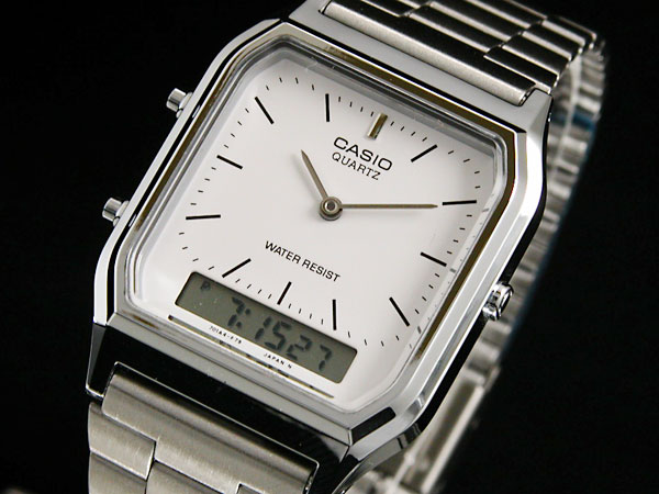 7782189c9 WATCHLIST: Casio CASIO an analog-digital watch AQ 230A-7 | Rakuten ...
