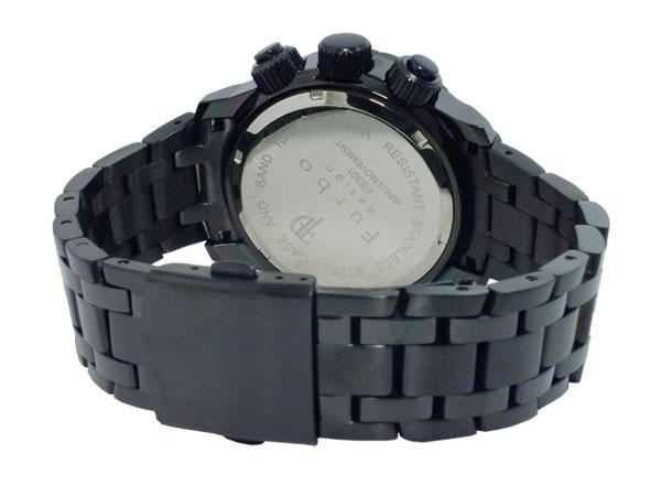 후르보데자인 FURBO DESIGN 이르소레 ILSOLE 소라멘즈크로노 손목시계 키홀더 세트 FS301BLSET