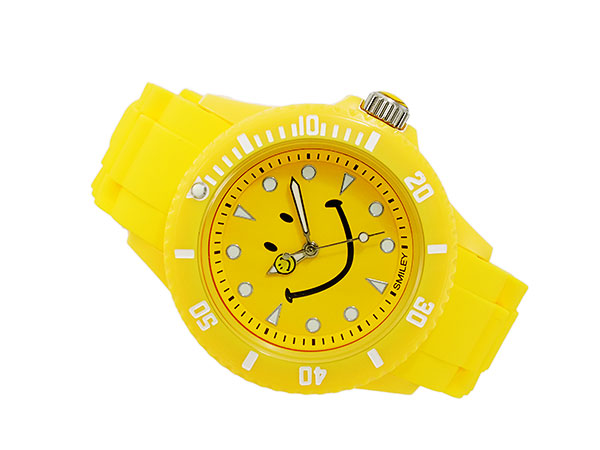 Smiley SMILEY watch ladies / kids WC-HBSIL-YL