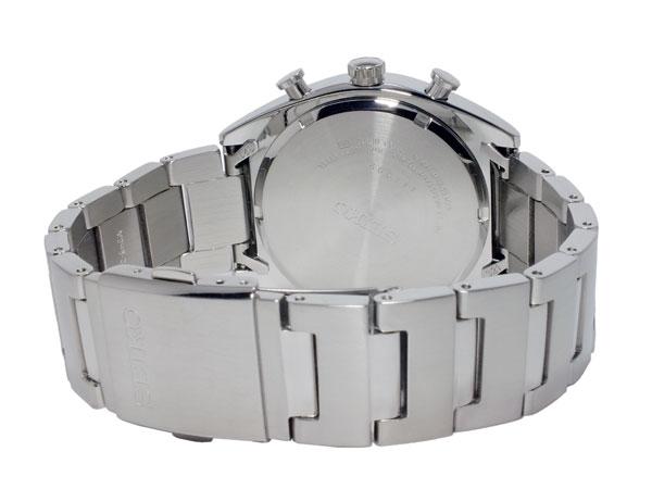 세이코 SEIKO 쿼츠 맨즈 크로노그래프 손목시계 SNDF87P1