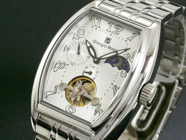 조르지오 로씨 GIORGIO ROSSI 손으로 말기 산&문 손목시계 GR-0008-SI