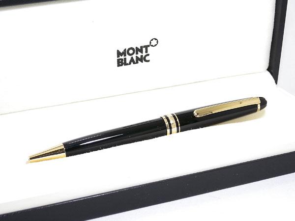 モンブラン MONTBLANC 10883 マイスターシュテュック クラッシック ボールペン 164 ブラック×ゴールド