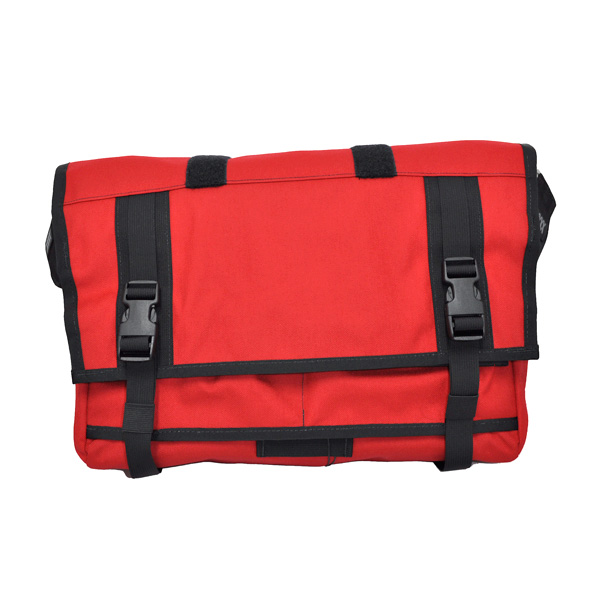 Mission Work Monty Mens Messenger Bag Red