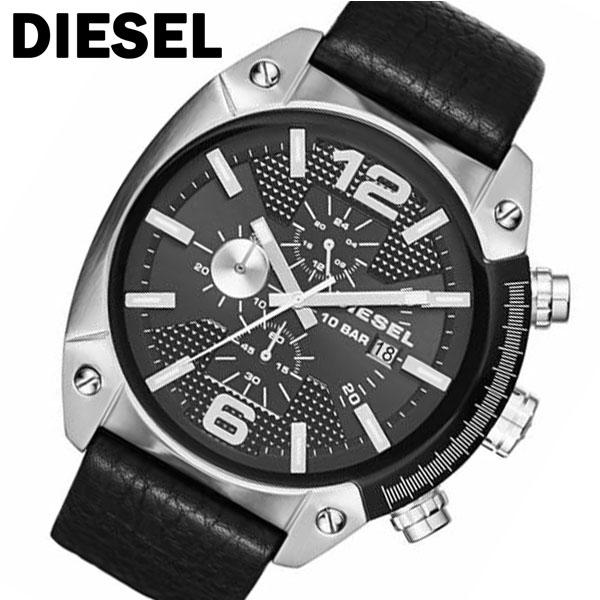 ディーゼル オーバーフロー クオーツ メンズ クオーツ クロノ クロノ 腕時計 メンズ DZ4341 ブラック, コウタチョウ:56ce9339 --- kutter.pl