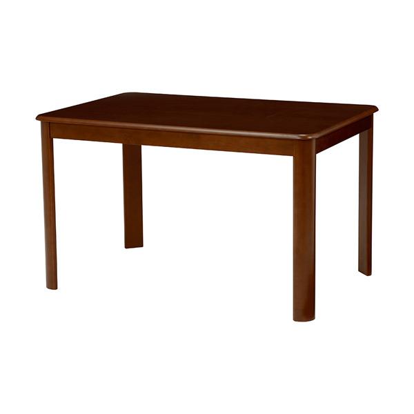 ダイニングテーブル 机 VDT-7684DBR 4934257228633 ダークブラウン 代引き不可