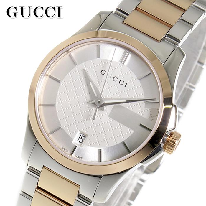 グッチ GUCCI シルバー Gタイムレス クオーツ Gタイムレス レディース 腕時計 YA126528 YA126528 シルバー, G-Select:6867e1a6 --- kutter.pl