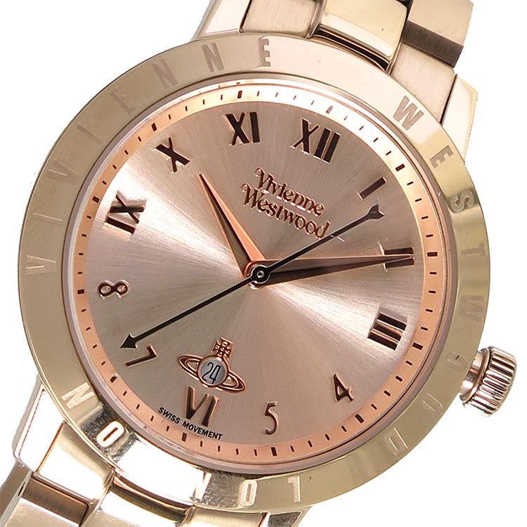 ヴィヴィアン ウエストウッド クオーツ レディース 腕時計 VV152RSRS ローズ