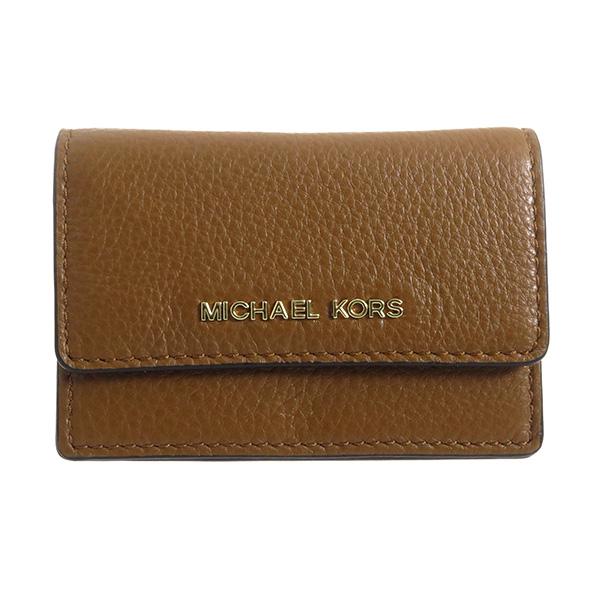 マイケルコース MICHAEL KORS レディース カードケース 32F5GDDD5T247 ブラウン
