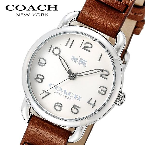 コーチ COACH デランシー DELANCEY クオーツ レディース 腕時計 14502258 ホワイト