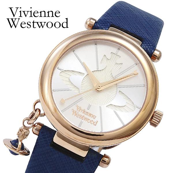 ヴィヴィアン ウエストウッド 腕時計 レディース VV006RSBL クオーツ シルバー