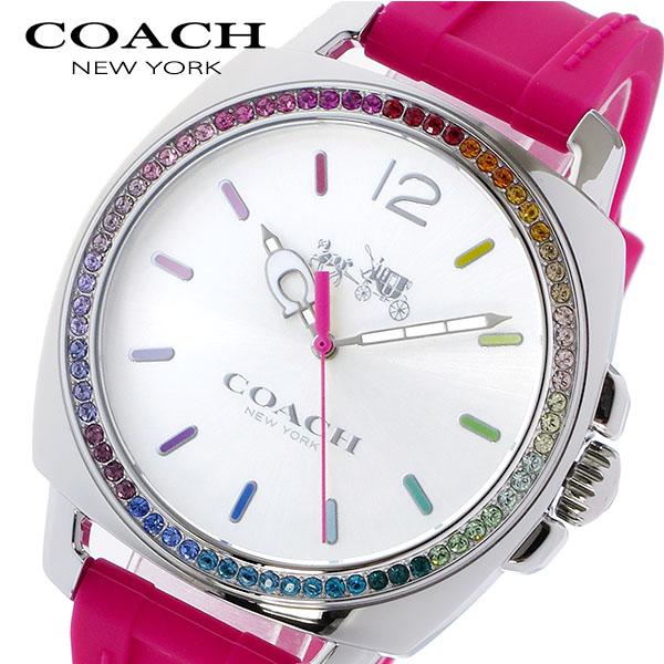 3d9fa20fb9aa ... ピンク 14502529 腕時計 レディース クオーツ. 11/1までエントリーで全品P20倍 コーチ COACH ボーイフレンド  ラインストーンベゼル