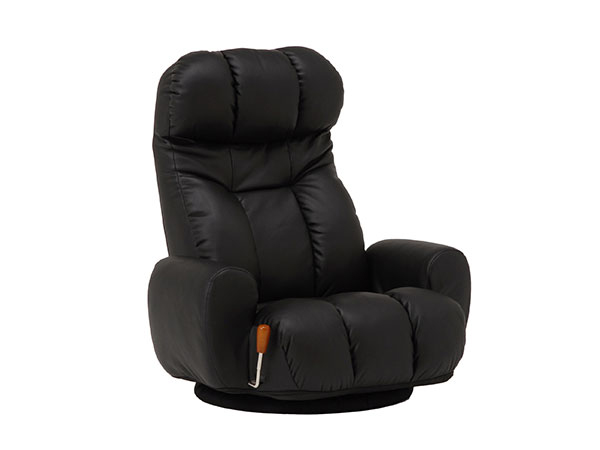 フロアチェア FLOOR CHAIR 座椅子 LZ-4271BK 【代引不可】