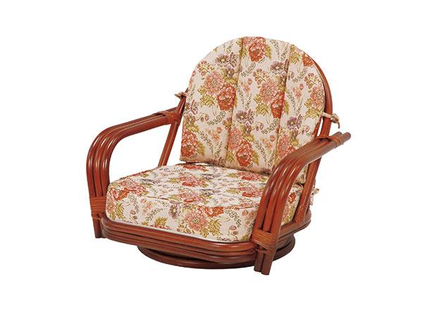 ラタンチェア RATTAN CHAIR 回転座椅子 RZ-931 【代引不可】