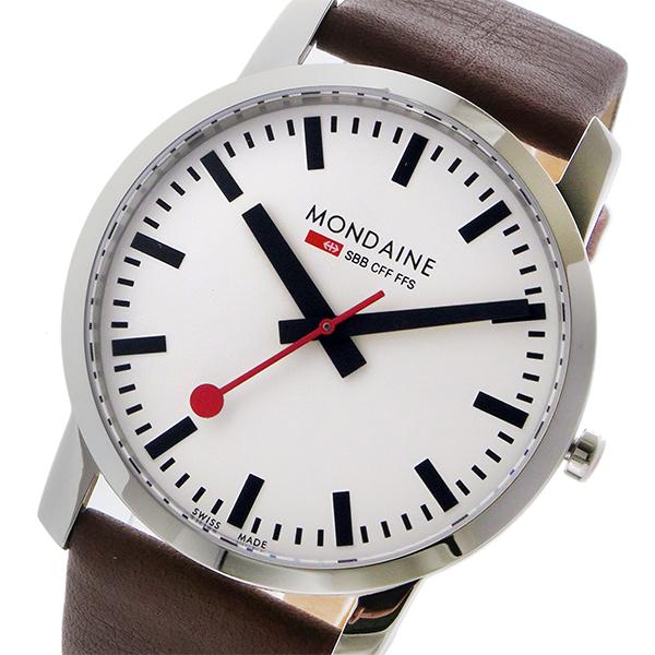 モンディーン MONDAINE クオーツ メンズ 腕時計 A638.30350.11SBG ホワイト