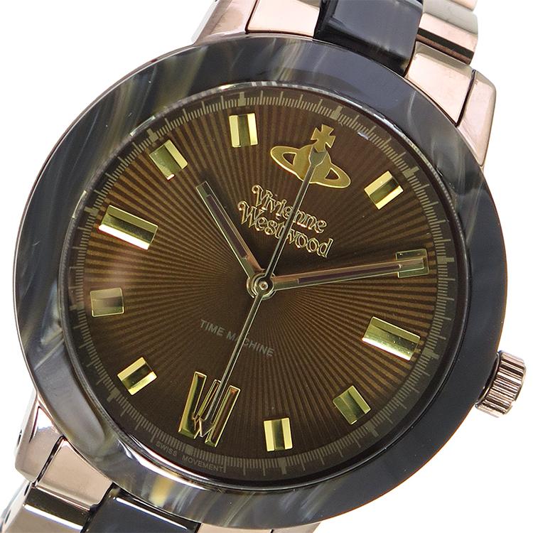 ヴィヴィアン ウエストウッド マーブルアーチ レディース 腕時計 VV165BRBR ブラウン