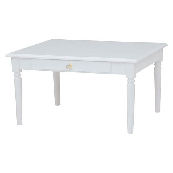萩原 テーブル(ホワイト) MT-6148WH 4934257234740 【代引き不可】