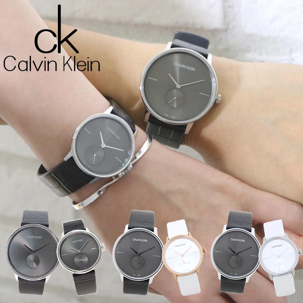 カルバンクライン ペアウォッチ メンズ レディース アクセント 選べる2type CALVIN KLEIN ACCENT 腕時計 誕生日プレゼント