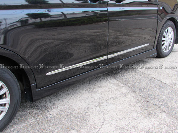 【 BRIGHTZ ステップワゴン RK1 RK2 メッキサイドドアモール 「 80cm×2 」 「 90cm×2 」 】 【 SAI-MOL-8090 】 RK K1 K2 サイド ドア モール