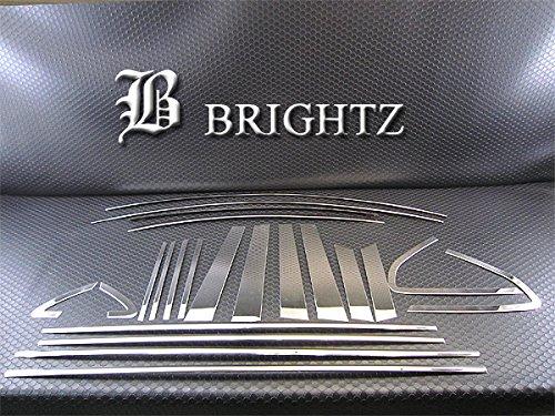 【 BRIGHTZ インプレッサXVハイブリッド GPE 超鏡面ステンレスメッキピラー ウィンドウモール セット 22PC 】 【 WIN-SET-005 】 ハイブリット