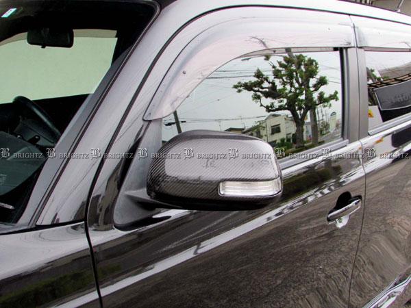 【 BRIGHTZ bB QNC20 QNC21 QNC25 リアルカーボンドアミラーカバー Lタイプ 】 【 MIR-SID-182 】 ビービー ビィービィー ビイービイー