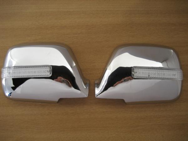 【 BRIGHTZ ランクル 80系 LEDウィンカーミラーカバー クロームメッキタイプ 】 【 MIR-SID-144 】