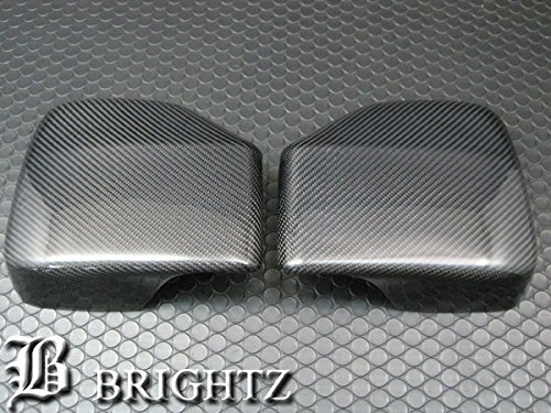 【 BRIGHTZ ハイゼットカーゴハイブリッド S320V S320V改 リアルカーボンドアミラーカバー Gタイプ 】 【 MIR-SID-186 】 S320 320 ハイゼットカーゴ ハイブリッド ハイゼット カーゴ ハイゼットカーゴハイブリット ハイブリット