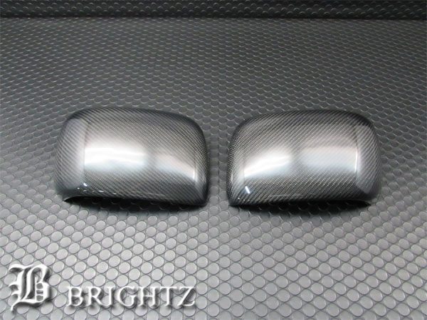 【 BRIGHTZ フレアワゴン MM32S MM42S リアルカーボンドアミラーカバー Dタイプ 】 【 MIR-SID-206 】