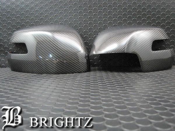 【 BRIGHTZ ステップワゴンスパーダ RP3 RP4 リアルカーボンドアミラーカバー Dタイプ 】 【 MIR-SID-197 】 RP P3 P4 3 4