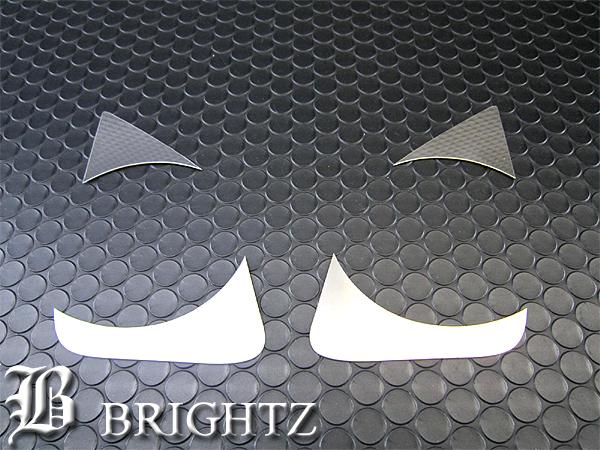 【 BRIGHTZ ヴェルファイア 20 25 前期 超鏡面ステンレスメッキフォグライトカバー 】 【 FOG-COV-072 】