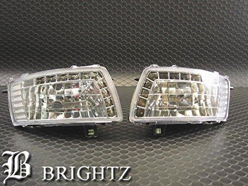 【 BRIGHTZ カローラスパシオ 121 122 124 LEDデイライト付き クリスタルフォグライト 】 【 FOG-H-014 】 120 NZE121 ZZE122N ZZE124N NZE121 ZZE122 ZZE124