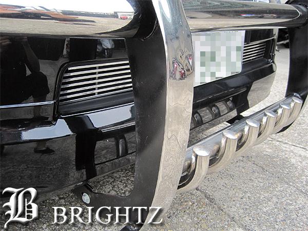 【 BRIGHTZ プラド 150系 クロームメッキフロントアンダーグリル 】 【 GRI-UND-022 】