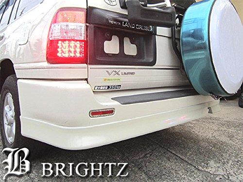 【 BRIGHTZ ランクル シグナス 100 リアバンパーアンダースポイラー 白 057 】 【 AER-SPO-010 】