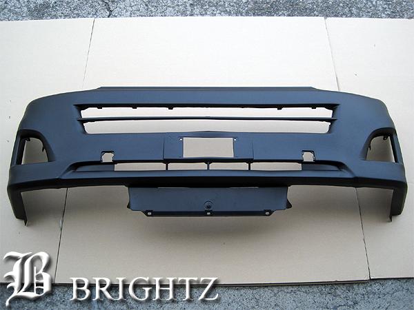 【 BRIGHTZ ハイエース 200系 3型 標準車専用 フロントバンパー本体 Aタイプ 】 【 BUM-H-002 】