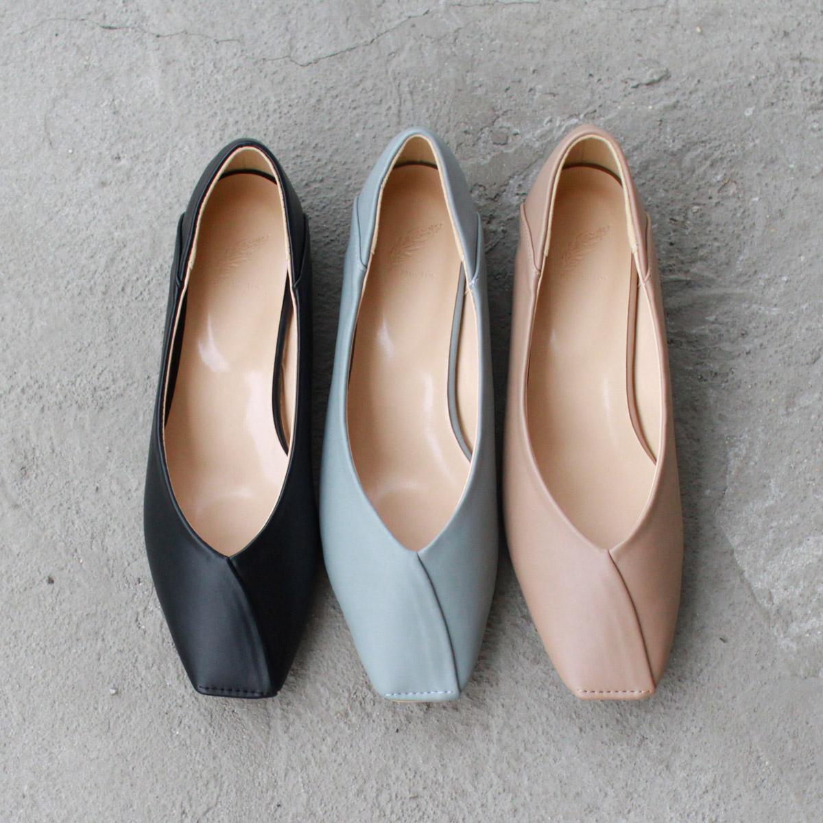 ローヒール お買得 スクエアパンプス シューズ レディースシューズ 品質検査済 婦人靴 スクエア パンプス スクエアトゥ 20%オフクーポン配布中 タイムセール スクエアトゥパンプス 送料無料※北海道 インヒール 沖縄は別途