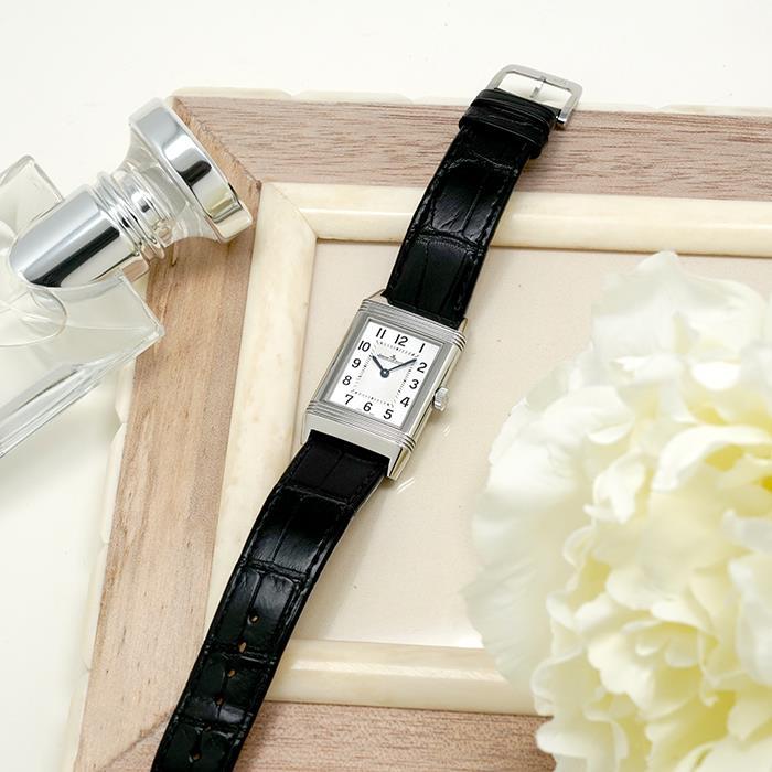 ジャガールクルト レベルソ クラシック ミディアム Q2548521 新品 送料無料 激安特価品 JAEGER 腕時計 LECOULTRE 中古レディース