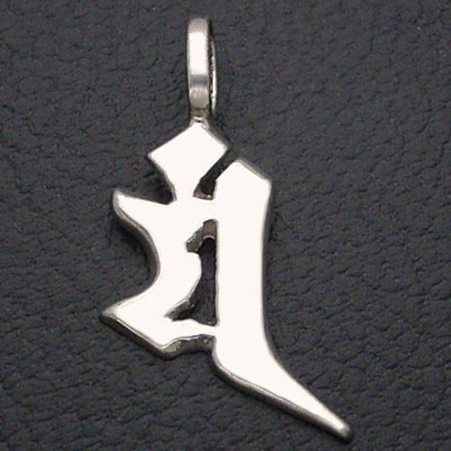 守護梵字 マン 卯(うさぎ) 文珠菩薩(もんじゅぼさつ) ペンダント ネックレス シルバー お守り プレゼント