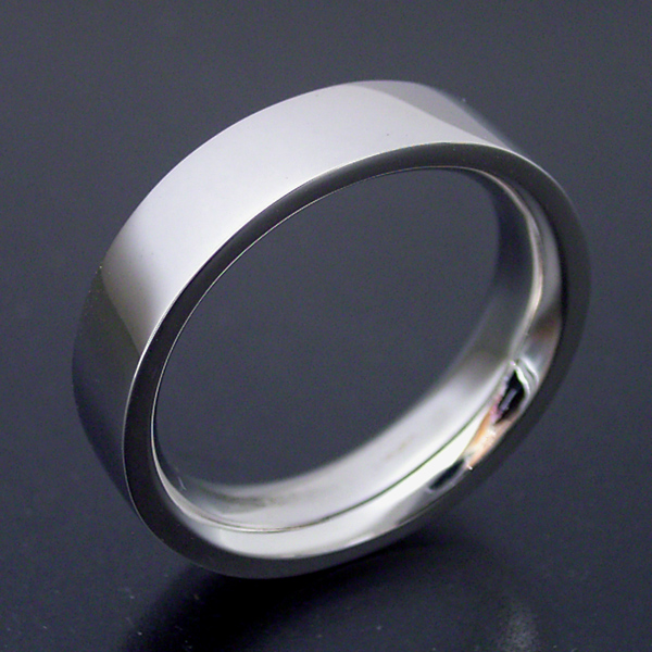 結婚指輪 マリッジリング 平打ちリング 4.5ミリ ペアリング プラチナ900 プロポーズ【平打ちタイプの結婚指輪「極(きわみ)平打ち type 3」】