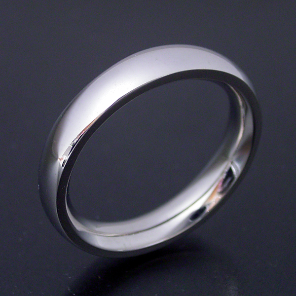 結婚指輪 マリッジリング 甲丸リング 3.5ミリ ペアリング プラチナ900 プロポーズ【甲丸タイプの結婚指輪「極(きわみ)甲丸 type 2」】