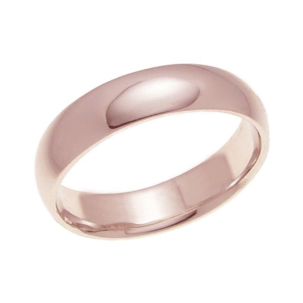結婚指輪 マリッジリング 甲丸リング 4ミリ ペアリング K18ゴールド プロポーズ【甲丸リング・4mm幅・K18ピンクゴールド】
