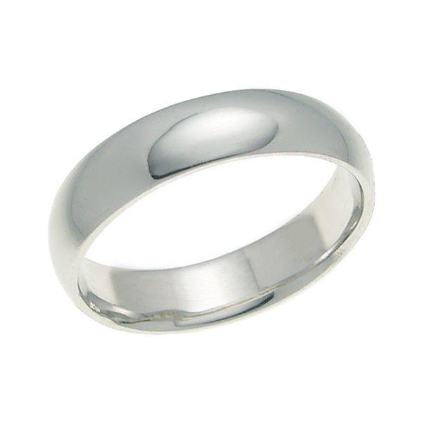 結婚指輪 マリッジリング 甲丸リング 4ミリ ペアリング K18ホワイトゴールド プロポーズ【甲丸リング・4mm幅・K18ホワイトゴールド】