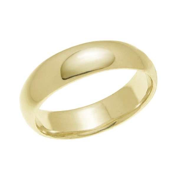 結婚指輪 マリッジリング 甲丸リング 5ミリ ペアリング K18ゴールド プロポーズ【甲丸リング・5mm幅・K18ゴールド】