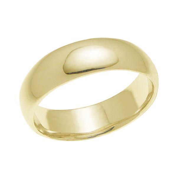 結婚指輪 マリッジリング 甲丸リング 6ミリ ペアリング K18ゴールド プロポーズ【甲丸リング・6mm幅・K18ゴールド】