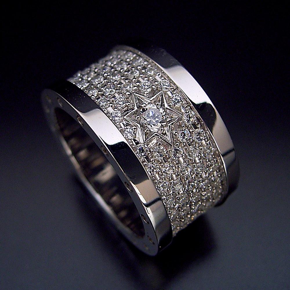 100万円【婚約指輪】エンゲージリング【エタニティリング】結婚指輪【マリッジリング】ダイヤモンド【ブライダルジュエリー】プラチナ【「ダイヤモンドの石畳」ダイヤモンドが煌めく婚約指輪】