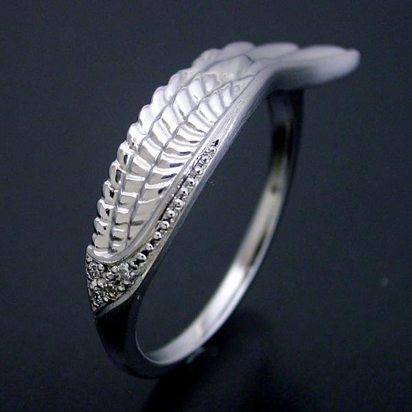 結婚指輪 マリッジリング プラチナ900 ペアリング プレゼント プロポーズ【長く使える指輪としてデザインしたフェザー(羽)の結婚指輪】