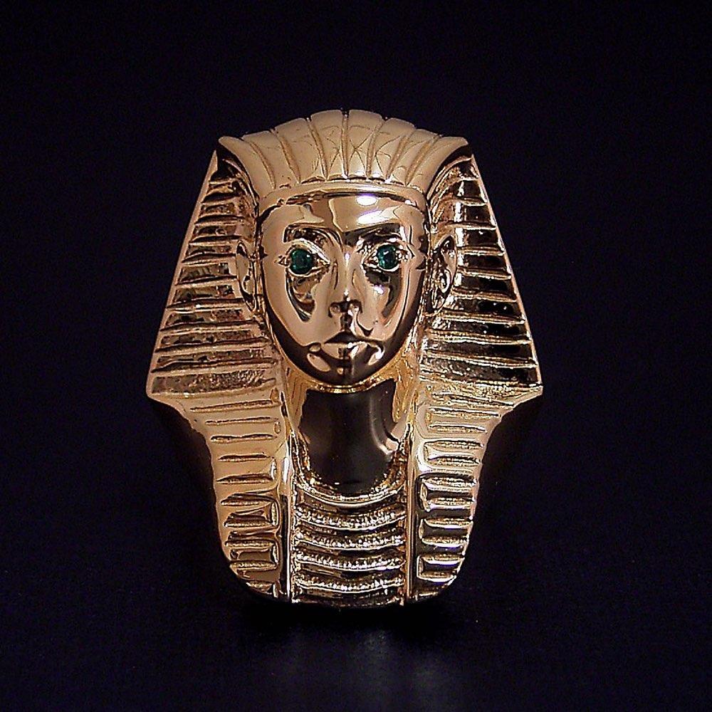 ツタンカーメン ファラオ 王家 リング 指輪 リング シルバー ゴールド 呪い エジプト少年王の謎 第1 第2 第3 エメラルド