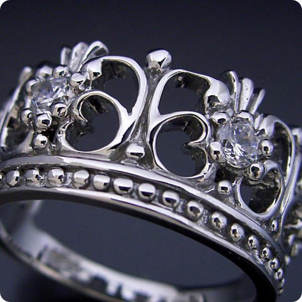 【婚約指輪】エンゲージリング【王冠】クラウン【リング】ダイヤモンド【ブライダルジュエリー】プラチナ【結婚指輪】マリッジリング【豪華な王冠(クラウン)デザインの婚約指輪】【宝石鑑別書付き】